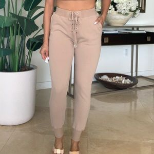 High waist sweet pants
